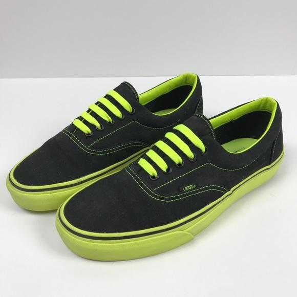 Vans Shoes   Vans Sneakers Black Neon